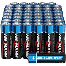 Chollo - Pack 48 Pilas alcalinas Ansmann AA