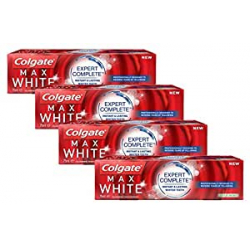Chollo - Pack 4x Colgate Max White Expert Complete Dentífrico (4x75ml)