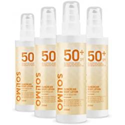 Chollo - Pack 4 Botes Crema solar Solimo FPS 50+ (4x200ml)