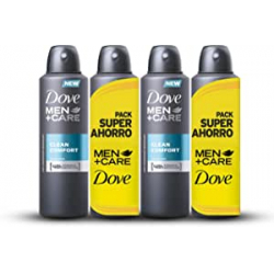 Chollo - Pack 4x Desodorante Dove Clean Comfort (4x200ml)