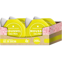 Chollo - Pack 4x Gel de ducha Moussel Lima y Menta 4x600ml - 67698874