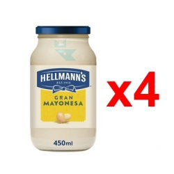 Chollo - Pack 4x Hellmann's Mayonesa (4x250ml)