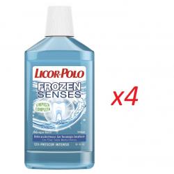 Chollo - Pack 4x Licor del Polo Fronzen Senses (4x500ml)