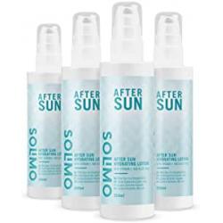 Chollo - Pack 4x Loción hidratante After Sun Solimo (4x200ml)