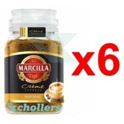 Chollo - Pack 6x Marcilla Crème Express Natural Café Soluble (6x200g)