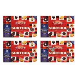 Chollo - Pack 4x Surtido de Galletas Cuetara El auténtico (4x420g)