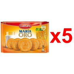 Chollo - Pack 5 Paquetes Galletas Cuétara Maria Oro (5x800g)