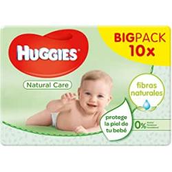 Chollo - Pack 560 Toallitas para bebé Huggies Natural Care