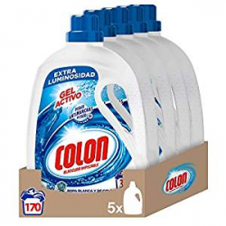 Chollo - Pack 5x Colon Gel Activo Detergente Concentrado (170 dosis)