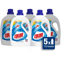 Chollo - Pack 5x Detergente Colon Gel Activo (5x30 lavados)