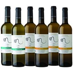 Chollo - Pack 6 Botellas Vino Manuscrito con DO (Albariño + Txakoli)