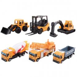 Chollo - Pack 6 Camiones de Construcción de Juguete