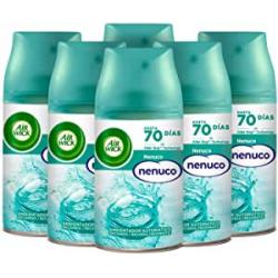Chollo - Pack 6 Recambios Air Wick Freshmatic Pure Nenuco 6x250ml
