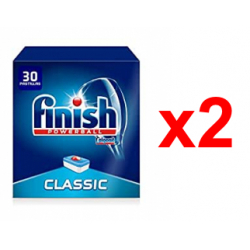 Chollo - Pack 60 Pastillas Finish Classic Regular (2x30 pastillas)