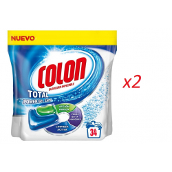 Chollo - Pack 68 Cápsulas Detergente Colon Total Power Gel Caps (2x34)
