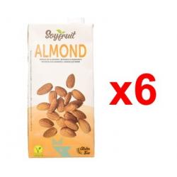 Chollo - Pack 6x Bebida de almendras con calcio SoyFruit Allmond (6x1L)