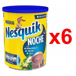 Chollo - Pack 6x Cacao soluble instantáneo Nesquik Noche 6x400g