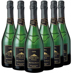 Chollo - Pack 6x Cava Jaume Serra Vintage Brut Nature Reserva (6x750ml)