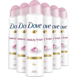 Chollo - Pack 6x Dove Desodorante Antitranspirante Beauty Finish Spray (6x150ml)