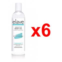 Chollo - Pack 6x Elave Sensitive Body Oil (6x250ml)