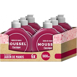 Chollo - Pack 6x Jabón de manos Moussel Classique 6x300ml