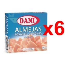 Chollo - Pack 6x Latas Almejas rosadas Dani (6x111g)