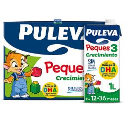 Chollo - Pack 6x Leche Puleva Peques 3 Crecimiento (6x1L)