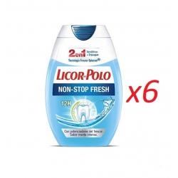 Chollo - Pack 6x Licor del Polo 2 en 1 Non Stop Fresh (5x75ml)