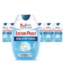 Chollo - Pack 6x Licor del Polo 2 en 1 Non Stop Fresh (6x75ml)