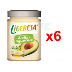 Chollo - Pack 6x Ligeresa Salsa Aceite de Aguacate (6x280ml)
