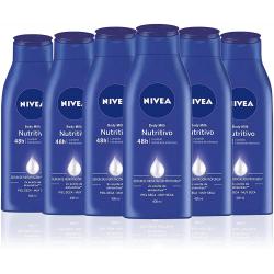 Pack 6x Nivea Body Milk Nutritivo (6x400ml)