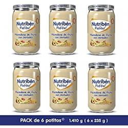 Chollo - Pack 6x Nutribén Potitos Varios Sabores (6x235g)