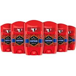Chollo - Pack 6x Old Spice Captain Desodorante Stick (6x50ml)