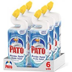 Chollo - Pack 6x Pato WC Acción Total aroma Oceano Limpiador para inodoro (6x750ml)