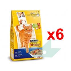 Chollo - Pack 6x Purina Friskies Atún y Verduras para Gato Adulto (9 Kg)