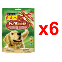 Chollo - Pack 6x Snack para perros Purina Friskies Funtastix (6x175g)