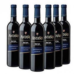 Chollo - Pack 6x Tinto Antaño Crianza D.O Rioja (6x750ml)