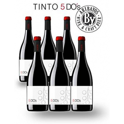 Chollo - Pack 6x Tinto 5 DO's 2012 (6x750ml)