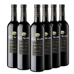 Chollo - Pack 6x Vino tinto crianza Pata Negra DO Valdepeñas 75cl