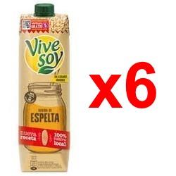 Chollo - Pack 6x Vivesoy Bebida de Espelta (6x1L)