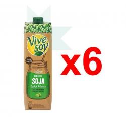Chollo - Pack 6x Vivesoy Bebida de Soja Sabor Intenso (6x1L)