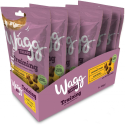 Pack 7x Snacks para perros Wagg training treats (7x125g)