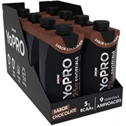 Chollo - Pack 8 Batidos de proteína Danone YoPRO chocolate (8x330ml)