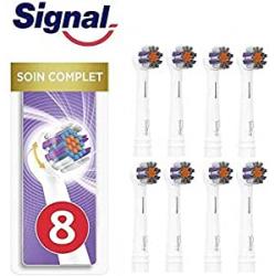 Chollo - Pack 8 Cabezales Signal Integral compatibles con Oral-B (4x 2 unidades)
