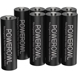 Chollo - Pack 8 Pilas Recargables Powerowl NiMH AA 2800mAh