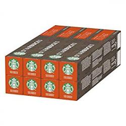 Pack 80 Cápsulas Nespresso Starbucks