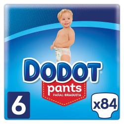 Chollo - Pack 84x Dodot Pant Pañal Braquita (+ 15kg)