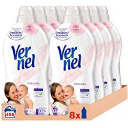 Chollo - Pack 8x Vernel Suavizante Delicado (456 lavados)