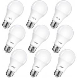 Chollo - Pack 9 Bombillas LED LVWIT A60 8.5W E27