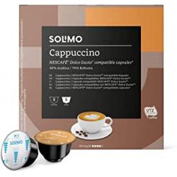 Chollo - Pack 96 Cápsulas Solimo Cappuccino para Nescafé Dolce Gusto (6x16)